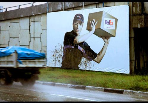 Publicidad de Fedex.