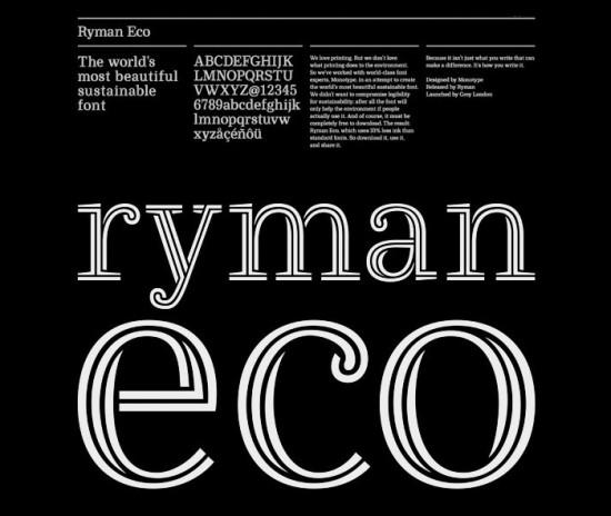 Ryman Eco.