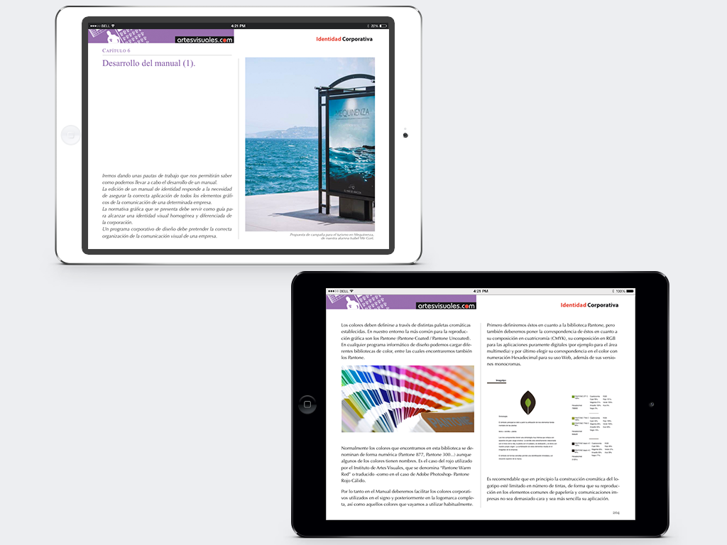 iBook Identidad Corporativa 2015.