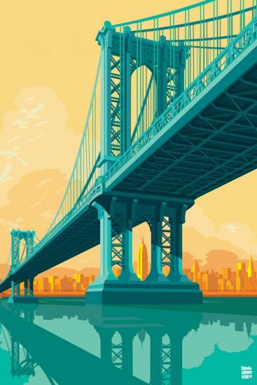Remko Heemskerk, Puente de Manhattan de Nueva York.