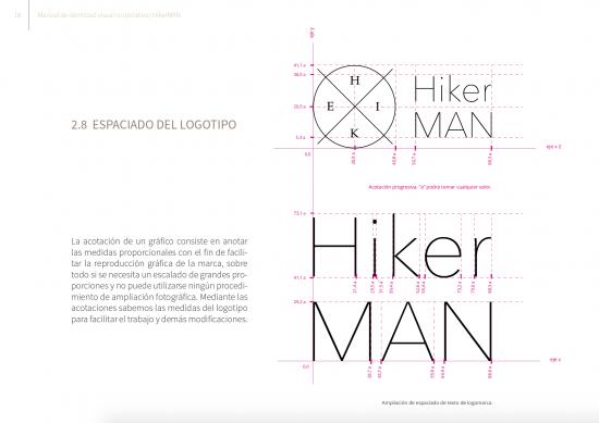 Acotaciones marca. Manual Hiker Man de Samara Khoudari.