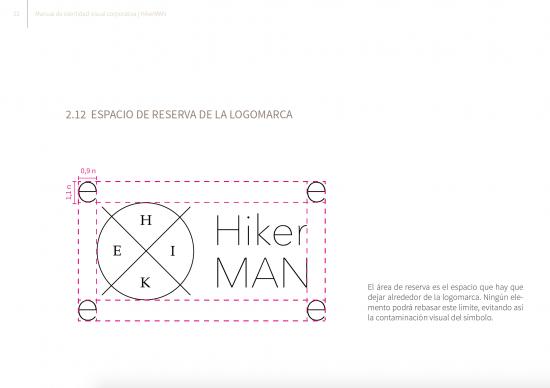 Espacio de reserva. Manual Hiker Man de Samara Khoudari.
