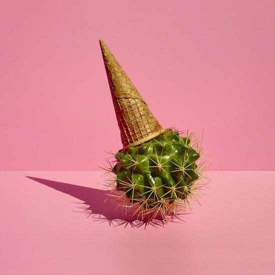 Helado de cactus, proyecto personal.
