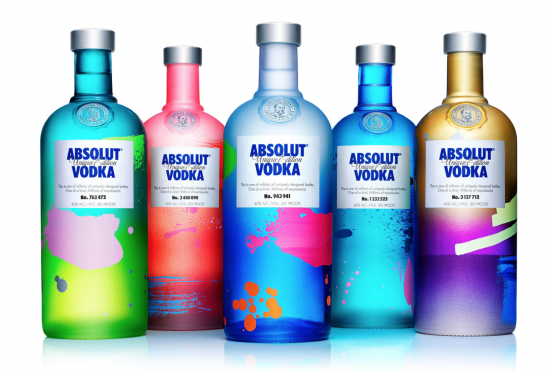 Una de las transformaciones de Absolut Vodka.
