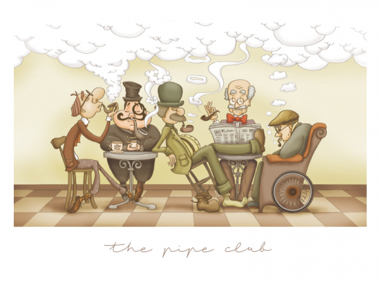 The pipe club.