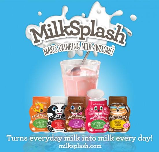 Milk-Splash, en el que los personajes son tan importantes como el producto.