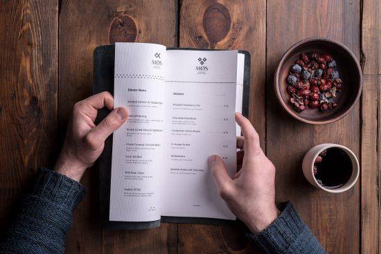 Menú, MØS Gastronomic, Backbone Branding