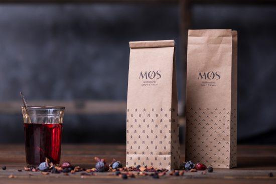 Paquetes de té, Backbone Branding