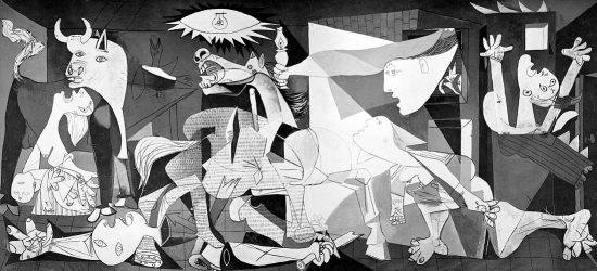 El Guernica de Picasso, todo un símbolo del horror.