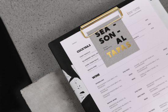 Carta de Toro Restaurante