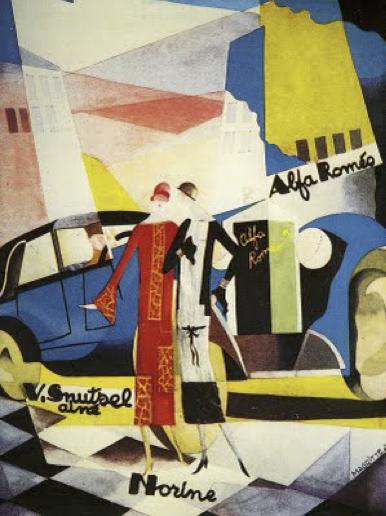 Magritte, Norine y Alfa Romeo