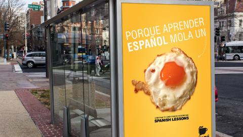 «Porque aprender español mola un huevo»
