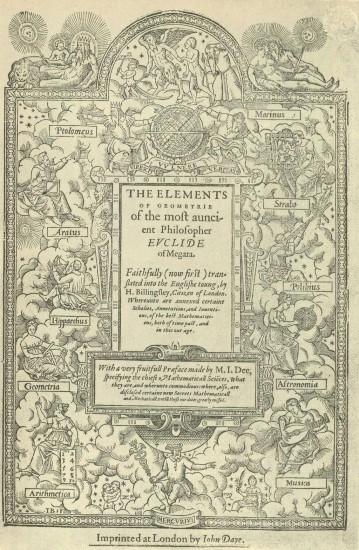 Elementos de Euclides, 1570