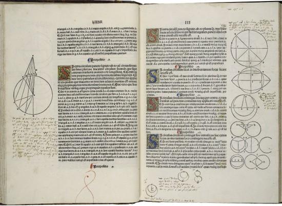 primera edición impresade Elementos, impreso porErhard Ratdolt en1482