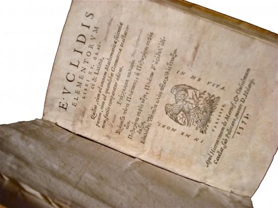 Euclidis - Elementorum libri XV de París