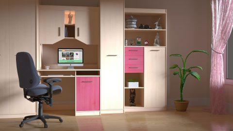 Trabajar a gusto depende de una habitación bien decorada