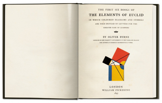 The Elements of Euclid, by Oliver Byrne