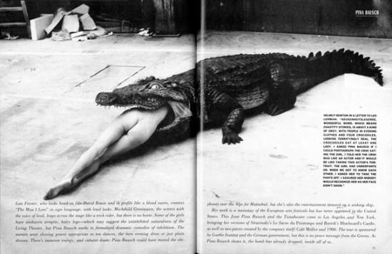 Vanity Fair, marzo 1984
