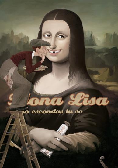 Gioconda, Un cuento y veinti3 sonrisas, Iban Barrenetxea
