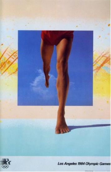 April Greiman, juegos olímpicos de Los Angeles