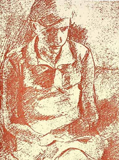 Friedlander: autorretrato, julio 1928