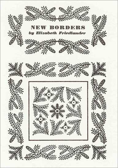 Frost and Fir borders encargado por Stanley Morrison para Monotype