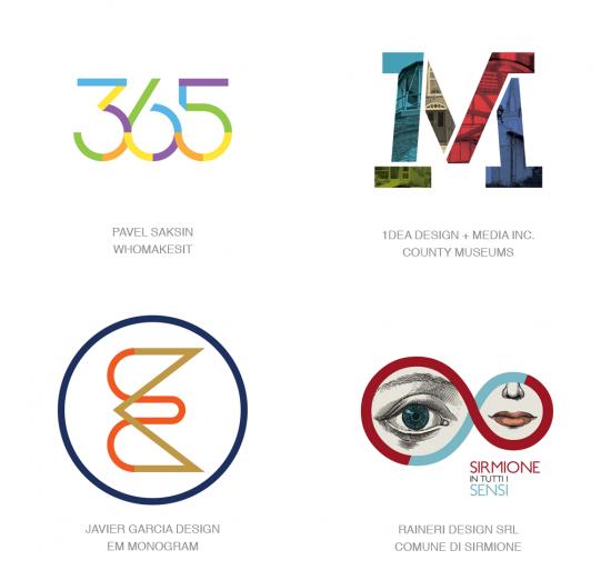 Tendencias en logomarcas, Tendencia división por color