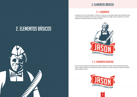 manual de identidad JASON