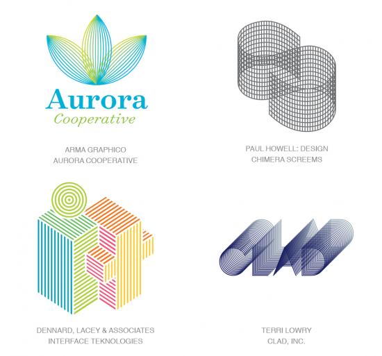 Tendencias en logomarcas, Microlíneas