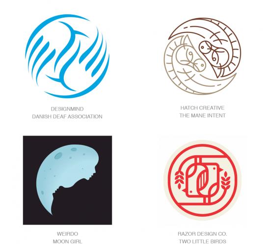 Tendencias en logomarcas, Tendencia Yin Yang
