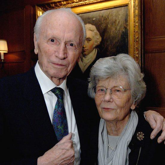 El matrimonio Gudrun Zapf-von Hesse y Hermann Zapf