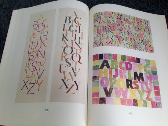 Trabajo tipográfico de Gudrun Zapf