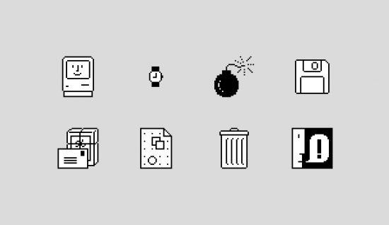 Los iconos de Susan Kare para Apple