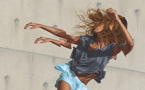 James Bullough, dinamismo y movimiento