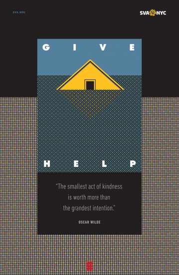 Give Help, Milton Glaser
