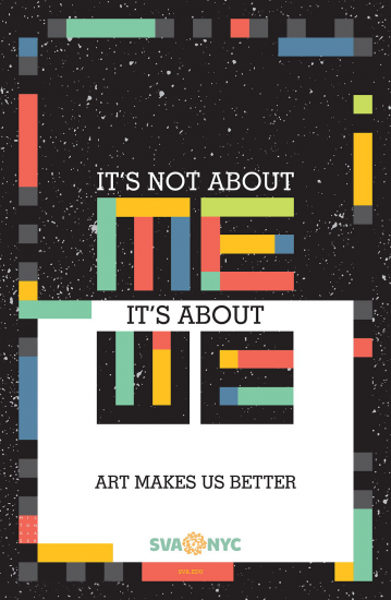 Its Not About Me Its About We, Milton Glaser