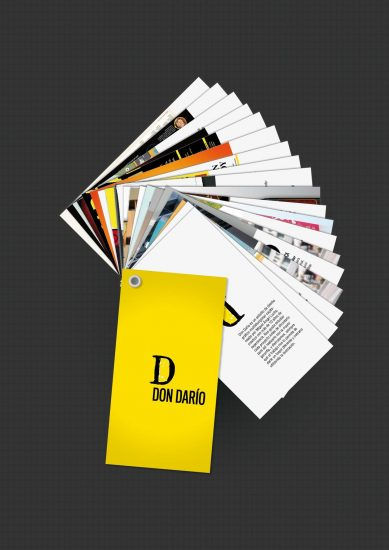 Minibook Don Darío