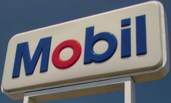 El famoso logotipo de Mobil