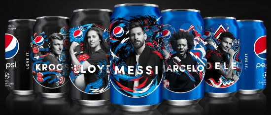 Pepsi Hero, latas