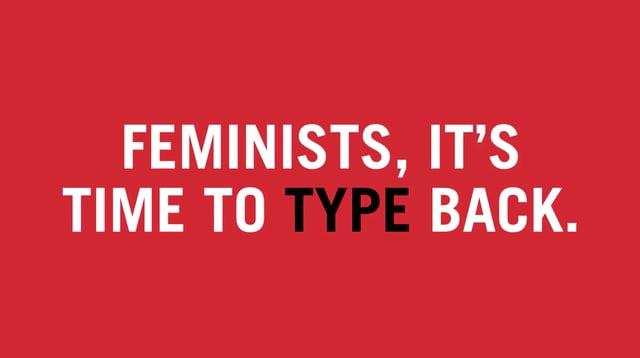 Tipografía feminista