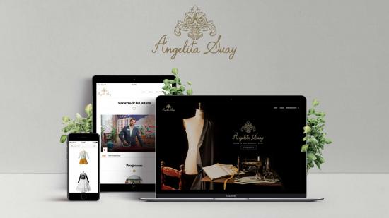 Presentación de la web Angelita Suay