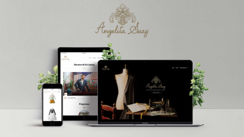 Flores, página web y Maestros de la Costura