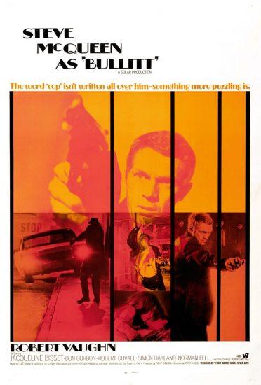 Bullitt, 1968, dirigida por Peter Yates.