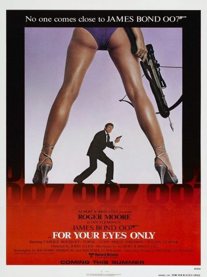 Solo para tus ojos, 1981, dirigida por John Glen