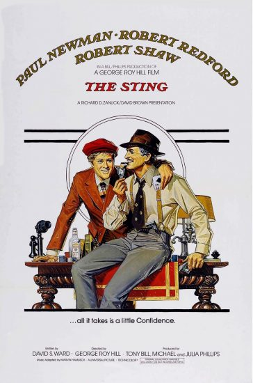 The Sting (El golpe) 1973, George Roy Hill.