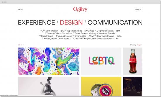 Nueva web Ogilvy