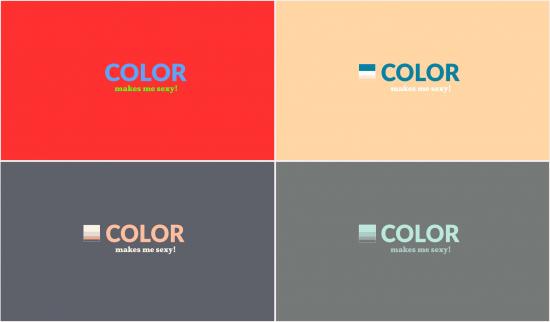 Color y texto