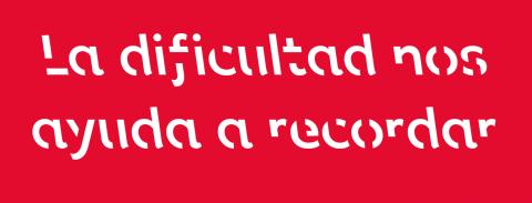 Sans Forgetica una tipografía para recordar