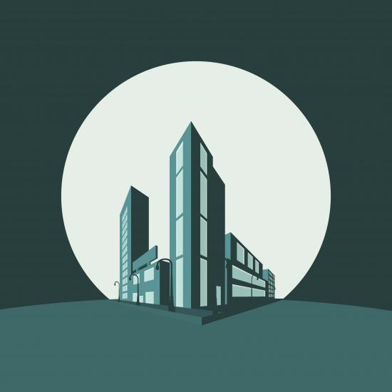 Ilustración isométrica David Pastor López