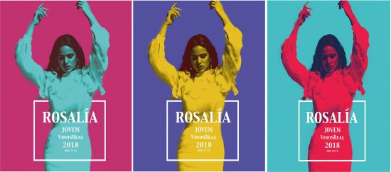 Color y energía visual en estas etiquetas para variedades de vino joven. Proyecto realizado por nuestra alumna Esther Tapia